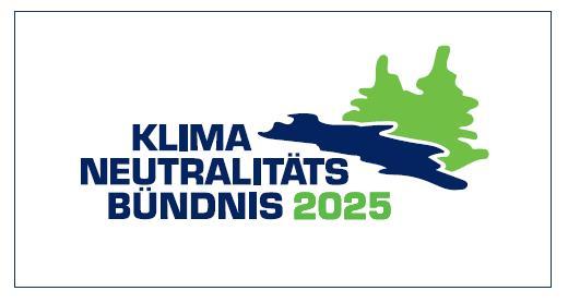 Logo Klimaneutralitätsbündnis 2025