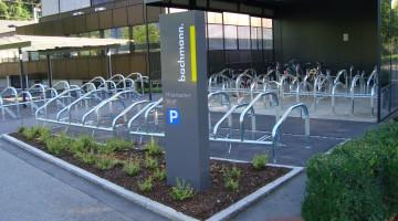 Fahrrad Abstellanlage Firma Bachmann