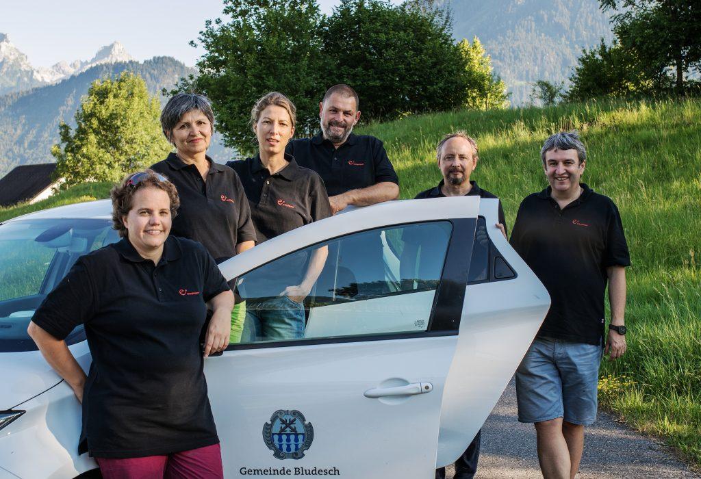Das e5-Team Bludesch, Juli 2017
