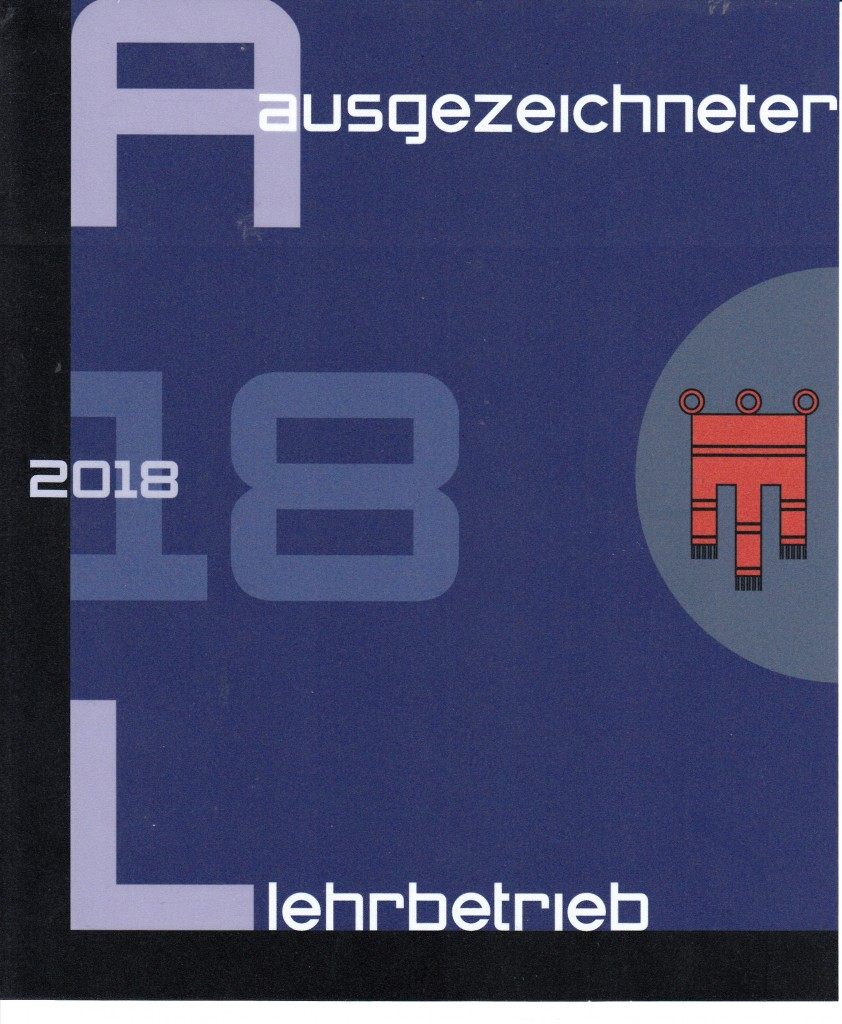 Lins Dach & Fassade_Auszeichnung Lehrbetrieb 2018