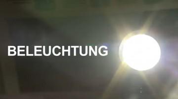Film Beleuchtung Rad