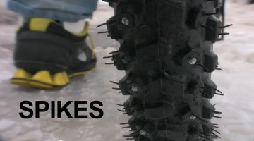 Film Spikes Fahrrad