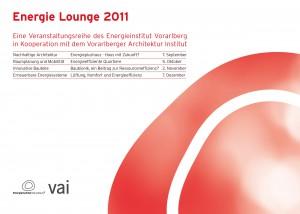 Folder Energie Lounge 2011