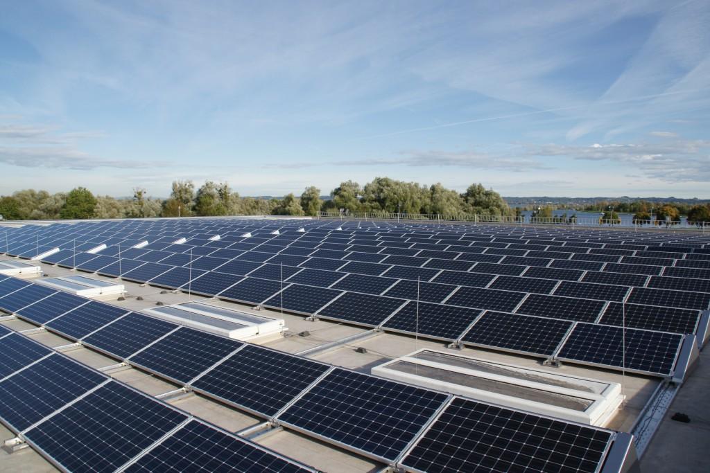 Photovoltaik Anlage; Foto: Markus Gmeiner