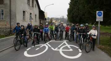Fahrradstraße Hard