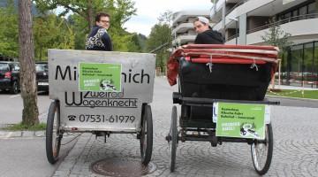 MOBILWoche 2015_Fahrradrikschas 2015_Feldkirch