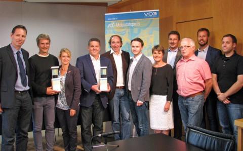 VCÖ Mobilitätspreis Vorarlberg 2015 für das Energieinstitut Vorarlberg