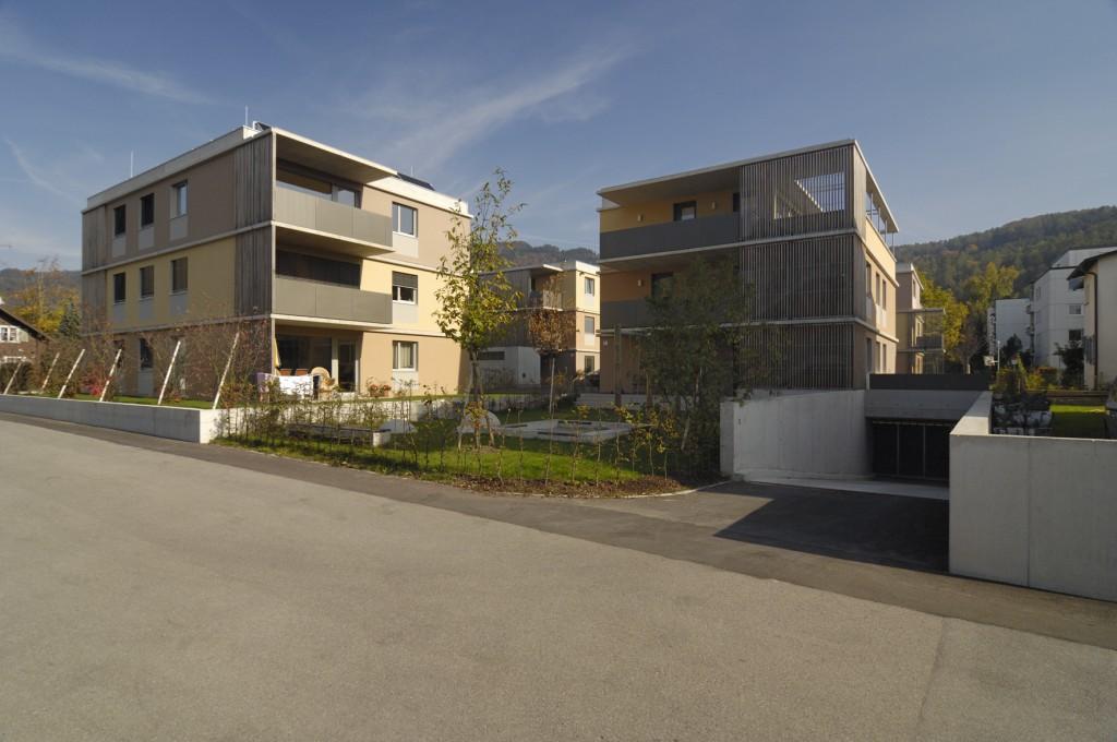 Verdichtetes Bauen unter Freunden - das Projekt Metzerbildstraße in Bregenz