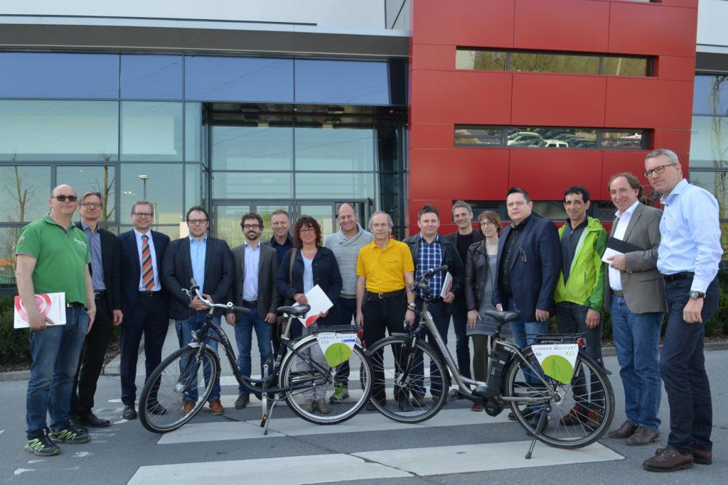 Die Mobilitätsbeauftragten in den Wirtschaft MOBIL-Unternehmen liefern mit zahlreichen Aktionen Impulse, um die Mitarbeitenden zum Umstieg auf Mobilitätsalternativen zu bewegen.