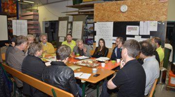 Runder Tisch - spannende Diskussionen