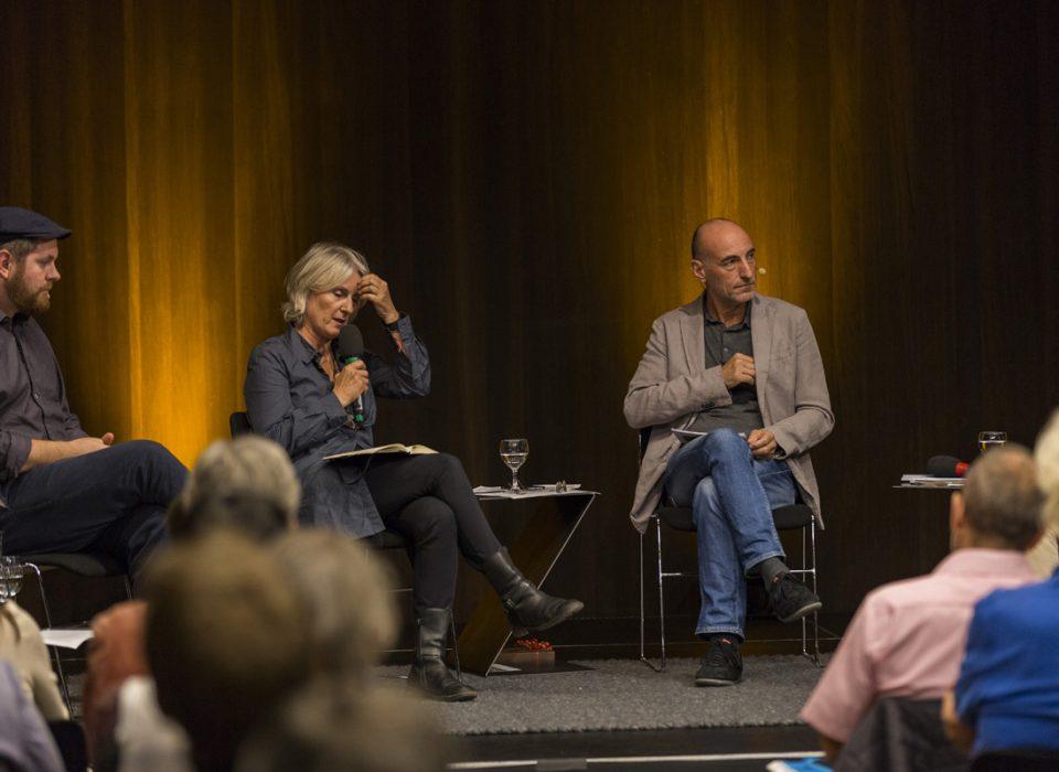 Energie Lounge 2017, Simvon Vetter, Marina Hämmerle, Harrald Gmeiner. Bildnachweis Darko Todorovic