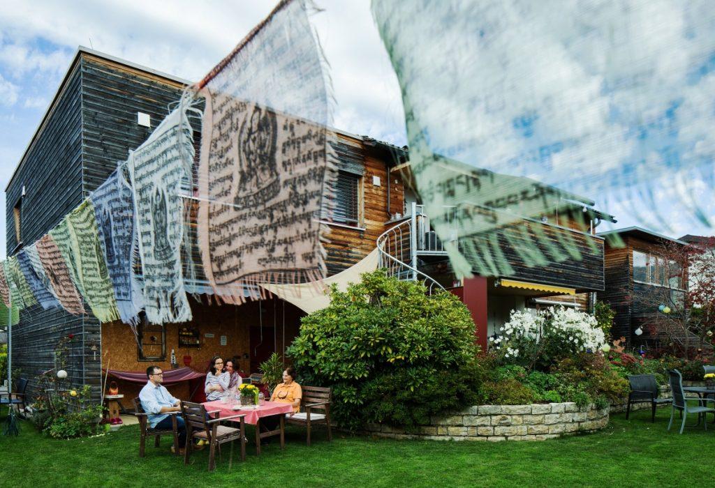 Nachverdichtung in Wolfurt: Leistbares Wohnen im Generationenhaus. Bildnachweis Markus Gmeiner