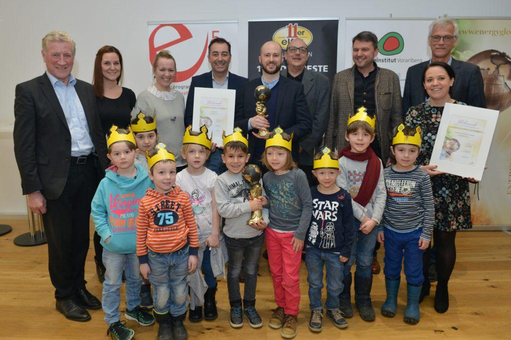 Energy Globe Vorarlberg 2018 für 11er und die Marktgemeinde Lustenau. Bildnachweis Foto Serra.
