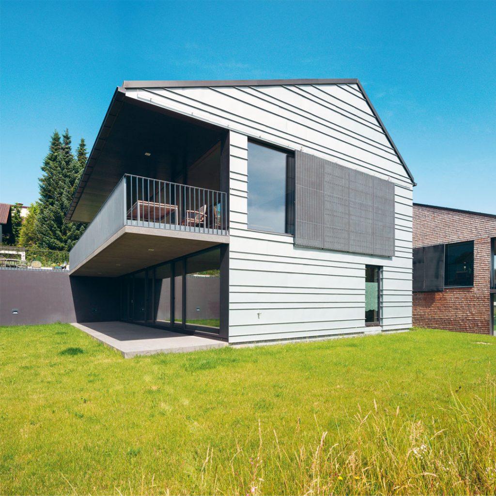 Low Tech-Einfamilienhaus H17 in Ermengerst- Bildnachweis Rainer Retzlaff Fotografie
