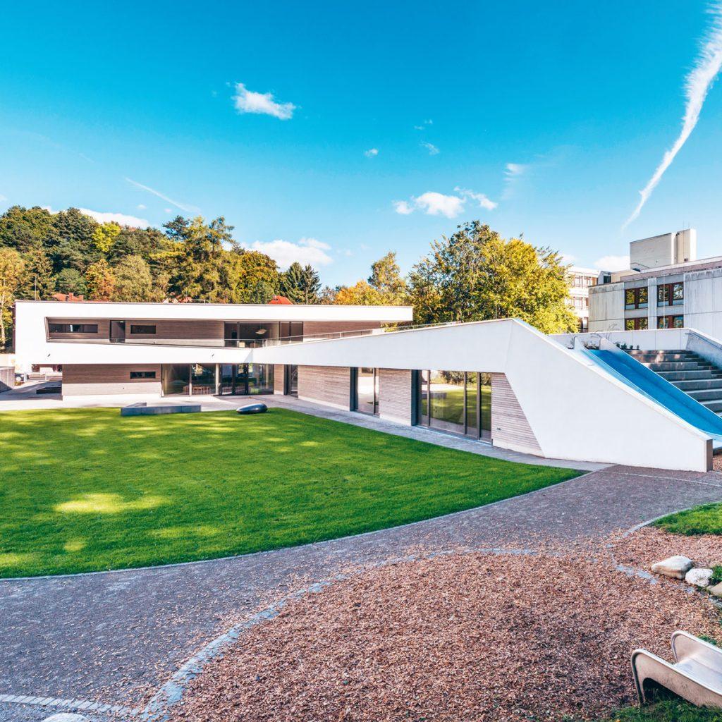 KITA Oberlinhaus Kempten. Bildnachweis Hermann Rupp / Studio für Fotografie
