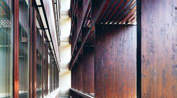 Low Tech Gebäude: i+R Gruppe, Lauterach. Bildnachweis Bruno Klomfar