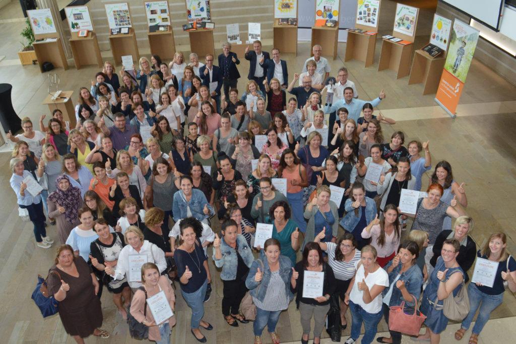 Ein Königreich für die Zukunft - Engagierte Pädagoginnen im Landhaus empfangen. Bildnachweis: A. Serra