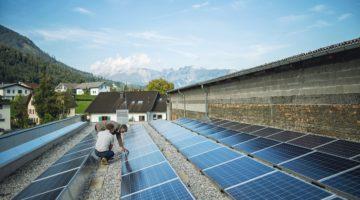 Photovoltaikanlage; copyright Gmeiner