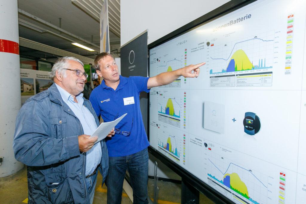 Über 1500 Besucherinnen und Besucher informierten sich beim 16. Vorarlberger Solar- und Wärmepumpentag von Energieinstitut und illwerke vkw in Bregenz.