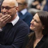 Hugo Dworzak und Verena Konrad bei der 3. Energie Lounge 2018.