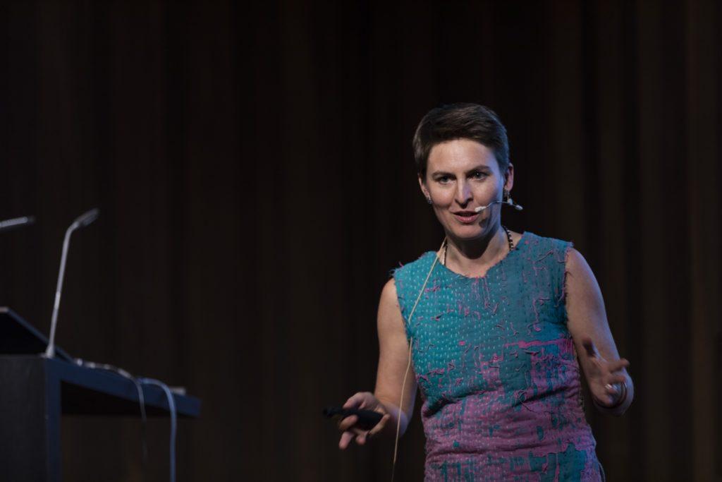 Anna Heringer bei der Energie Lounge 2018 | Bildnachweis Darko Todorovic