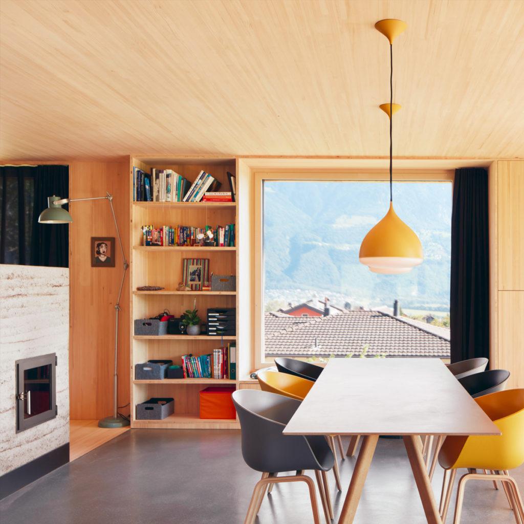 Low-Tech-Einfamilienhaus Gstöhl in Eschen (FL). Bildnachweis Ralph Feiner