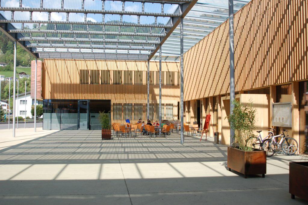 Gemeindezentrum Ludesch, Bildnachweis: Gemeinde Ludesch