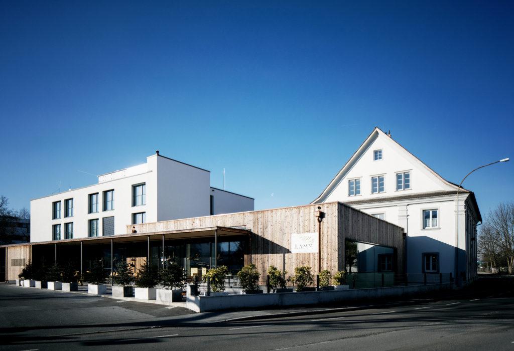 Raus aus Öl-Beispiel Hotel Gasthof Lamm in Bregenz. Bildnachweis: Energieinstitut Vorarlberg/Markus Gmeiner