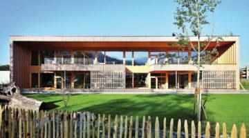 Kindergarten Dornbirn Wallenmahd - Neubau in Massivholzkonstruktion