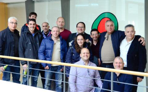 Eine Gruppe Elektrotechniker aus Israel war Anfang April 2019 bei uns im Energieinstitut Vorarlberg zu Gast.