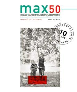max50 - die Nummer 65 ist da