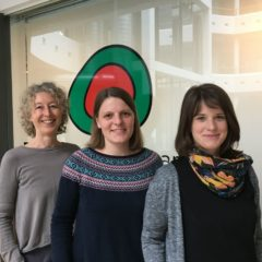 Tina Schweizer, Melitta Gassner und Clara Zudrell, Energieinstitut Vorarlberg
