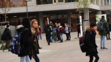 Der Energy Globe Vorarlberg 2019 geht an die Stadt Bregenz für den Gut-Geh-Raum vor der Schule Schendlingen. Bildnachweis: Alexandra Serra