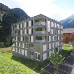 Die Wohnanlage in St. Gallenkirch der Alpenländischen. Bildnachweis: Alpenländische
