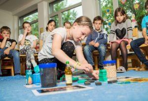 Die Energiewerkstatt Schule zu Gast in der VS Schwarzach. Bildnachweis: Markus Gmeiner