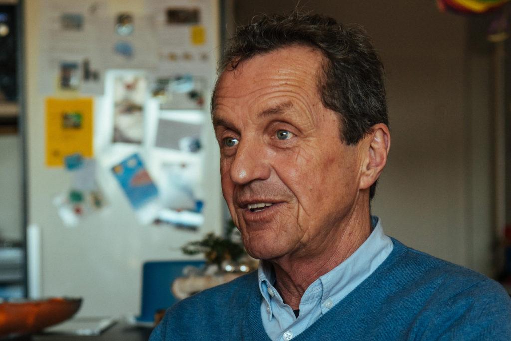 """Anton Stabentheiner hat mit dem """"Haus im Leben"""" ein Konzept für zukunftsfähiges Wohnen entwickelt. Bild: Energie Tirol"""