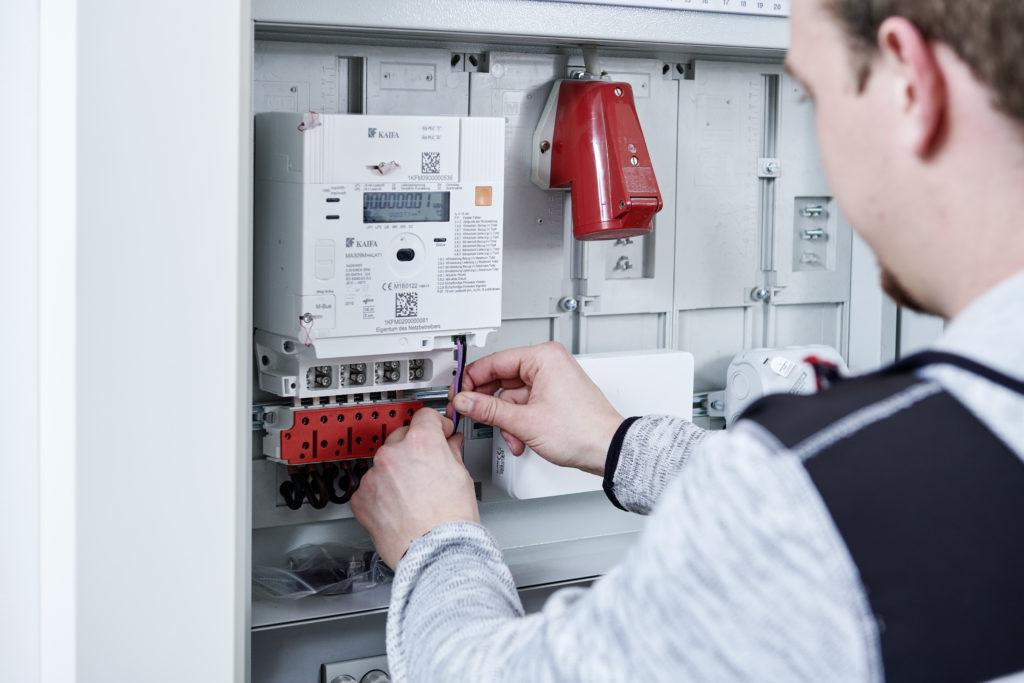 Die Stromzähler in Vorarlberg werden durch neue, intelligente Messgeräte ersetzt. Bild: Vorarlberger Energienetze