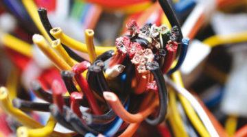 Eine PVC-freie Elektroverkabelung ist problemlos umzusetzen.
