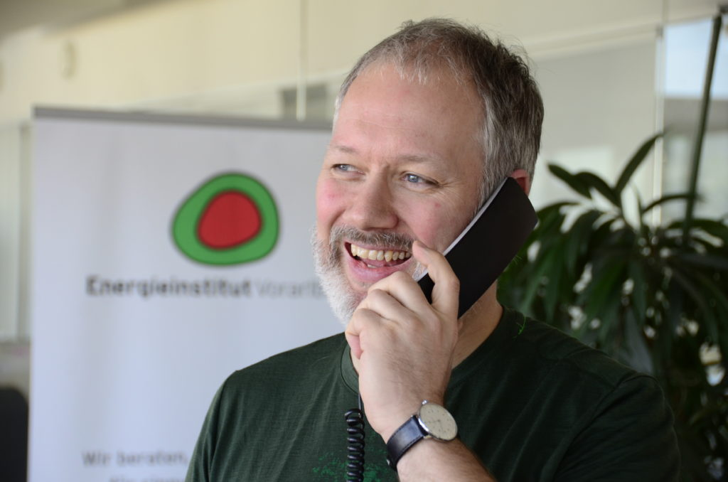 Das Energietelefon im Energieinstitut Vorarlberg ist Ihr erster Ansprechpartner in Förder- und Energiefragen rund ums Bauen, Sanieren und Wohnen!