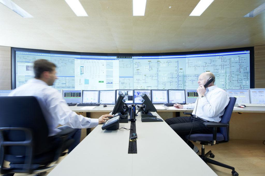 Die Hauptschaltleitung der Vorarlberger Energienetze GmbH. Foto: Vorarlberger Energienetze GmbH