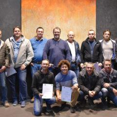 """Diese Herren haben unseren Kurs """"Vom Hauswart zum Haustechniker"""" erfolgreich absolviert. Der Kurs wurde erstmalig durchgeführt und ist eine Zusammenarbeit zwischen WIFI und Energieinstitut Vorarlberg."""