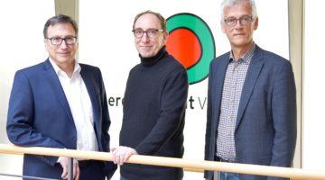 Helmut Mennel, Johannes Rauch, Josef Burtscher
