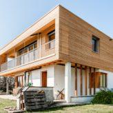Familie Burtscher aus Wolfurt hat ihr Einfamilienhaus zum Generationenhaus ausgebaut. Bildnachweis: Karin Nussbaumer