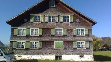Haus Nenning Hittisau, vor der Sanierung, CR Hermann Nenning