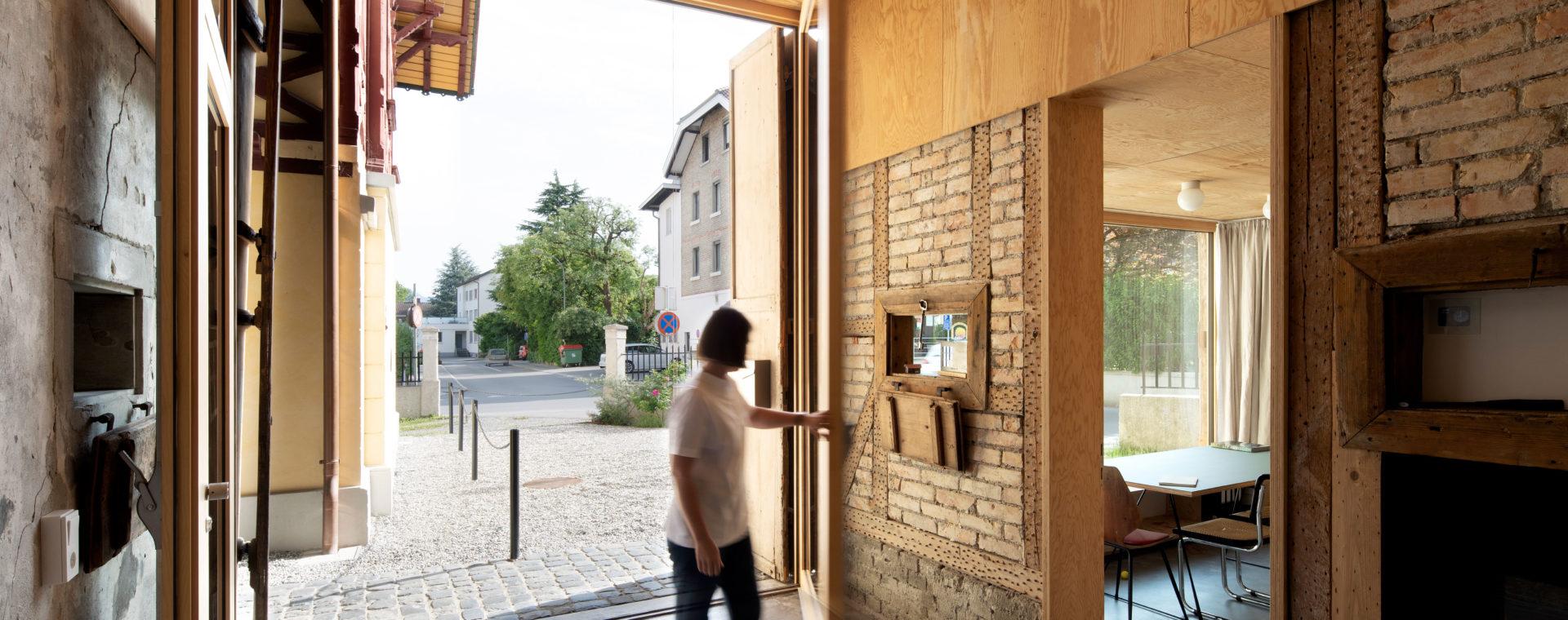 Oeconomie-Gebäude Josef Weiss, Dornbirn, nach der Sanierung, CR Angela Lamprecht