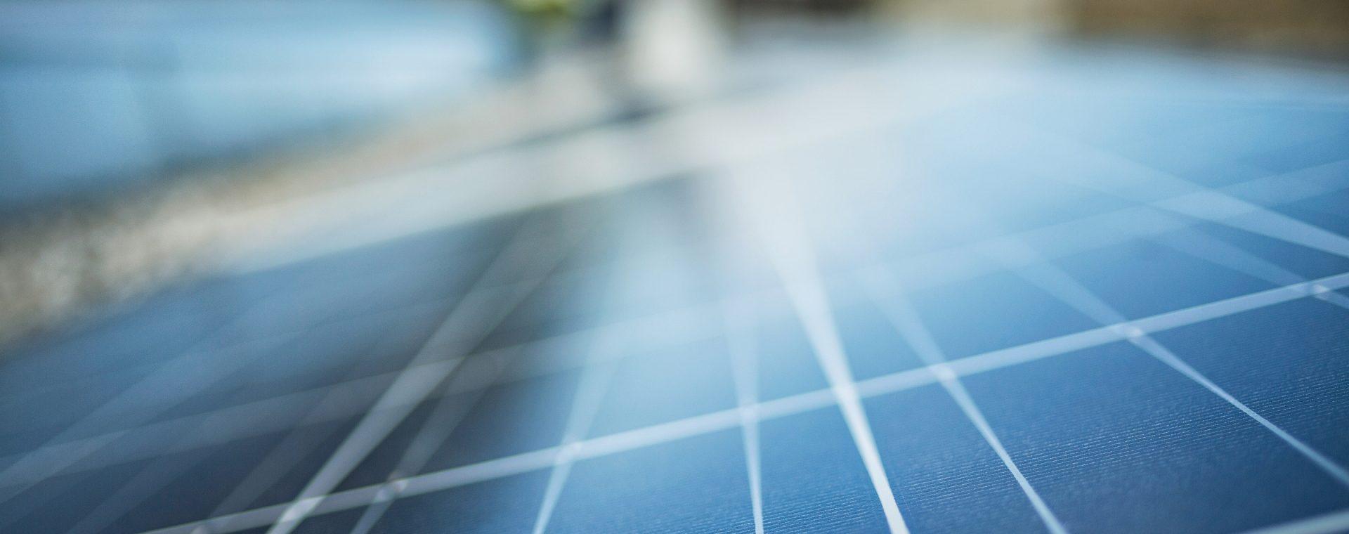 Photovoltaik-Anlage. Energieinstitut Vorarlberg. Bildnachweis: Markus Gmeiner