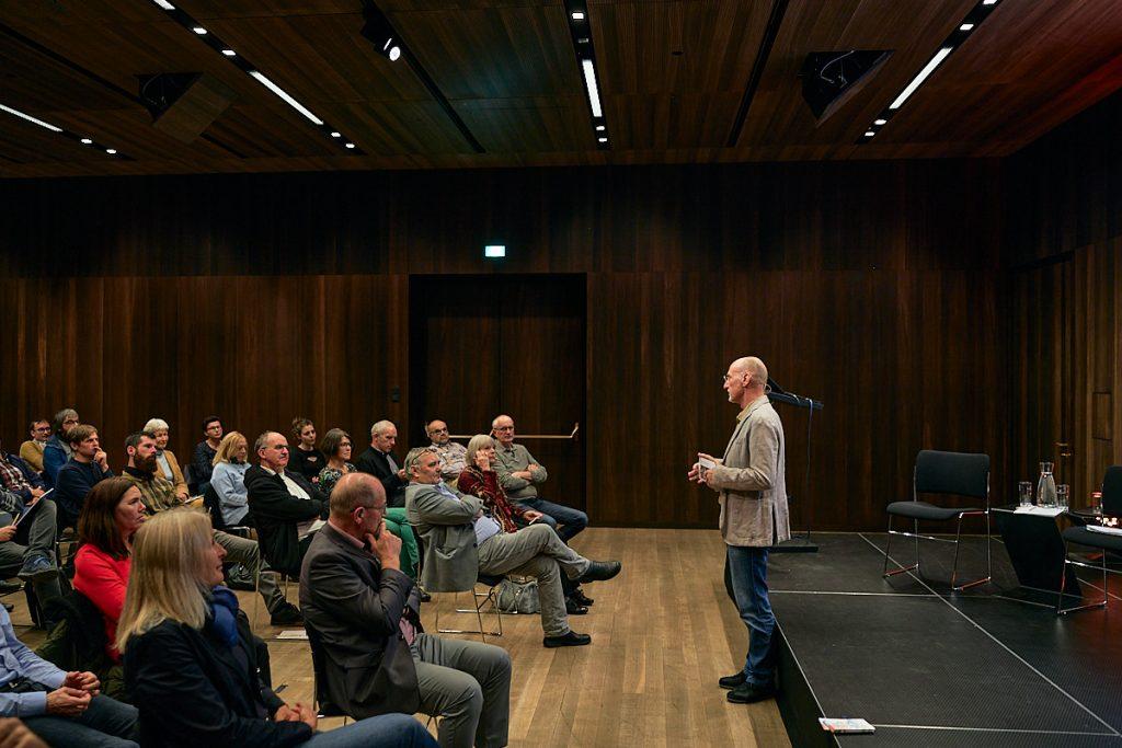 Die Veranstaltungsreihe zur Vernetzung von Architektur, Energie und Ökologie steht 2021 unter dem Schwerpunkt European Green Deal und Bioökonomie. Foto Darko Todorovic.