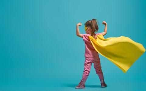 Superheldin - Fachtagung Besser bauen und sanieren. Bildnachweis: ©Konstantin Yuganov - stock.adobe.com