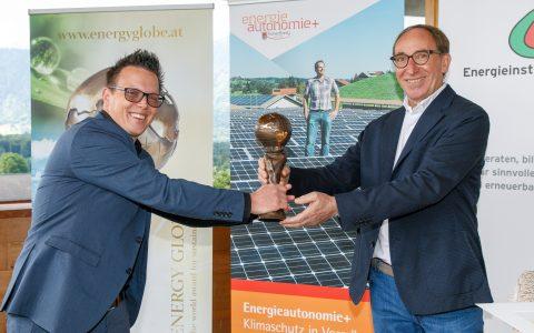Sennerei Schnifis Energy Globe; PK und Energy Globe 2021, Verleihung